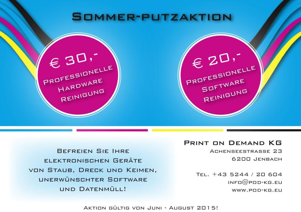 Sommer-Putzaktion