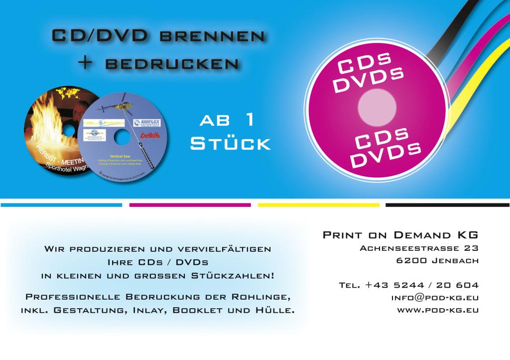 CD-DVD Produktion
