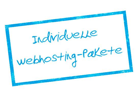 Individuelle Webhostingpakete - Gemeinsam analysieren wir Ihren Bedarf und erstellen ein individuell zugeschnittes Paket. Bei uns erhalten Sie genau das was Sie benötigen!